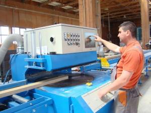 Circular de retezat lemn pentru fabrica de sarpante si case din lemn industrializate