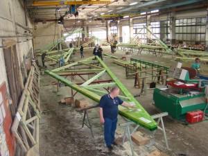 Fabrica de ferme din lemn industrializate