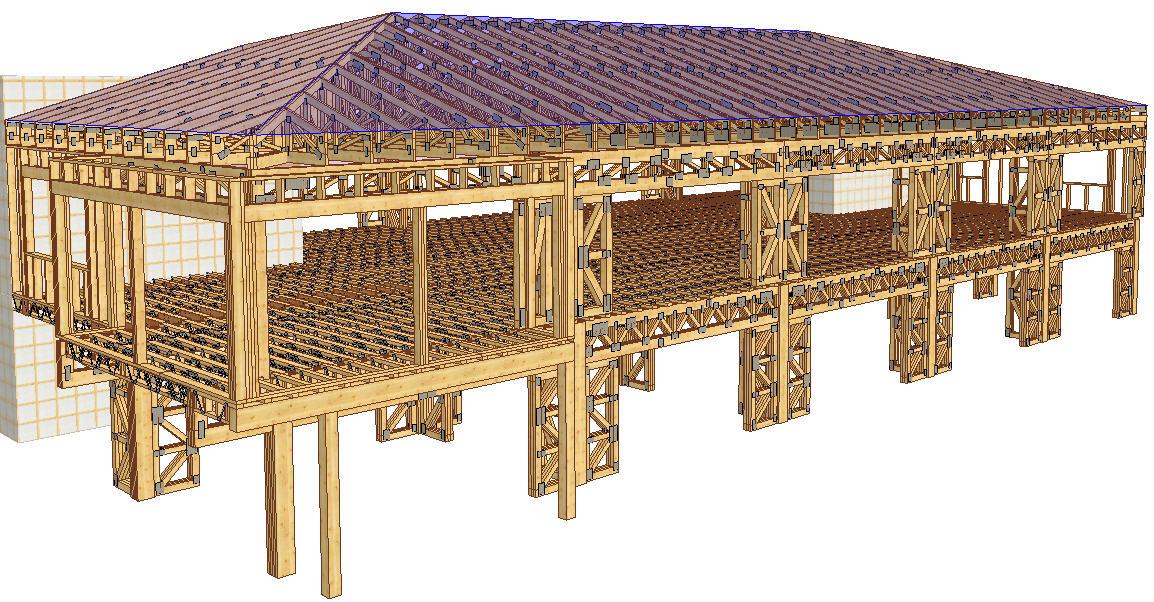 proiectare supraetajare clădire birouri Delta ACM
