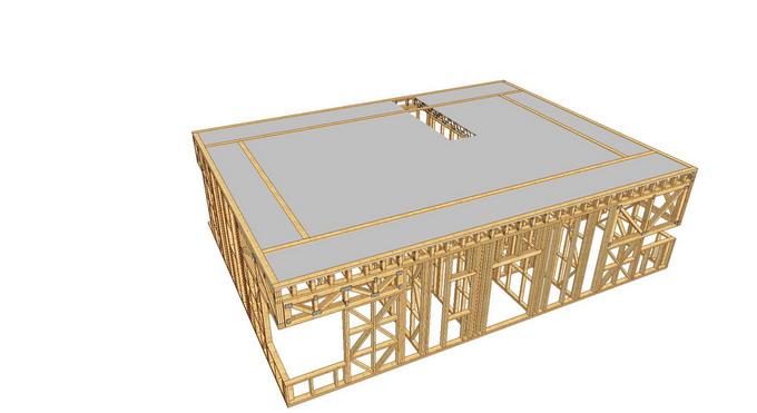 proiect casa din lemn - cosoroabe peste OSB