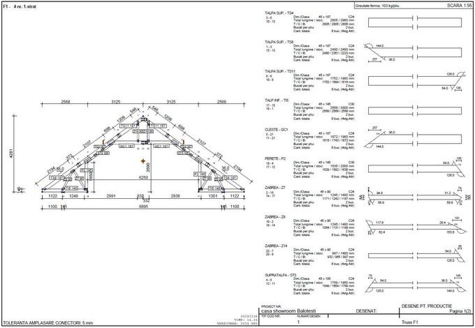 proiectare case din lemn - ferma din lemn 2