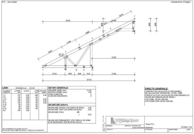 proiectare case din lemn - ferma din lemn 5
