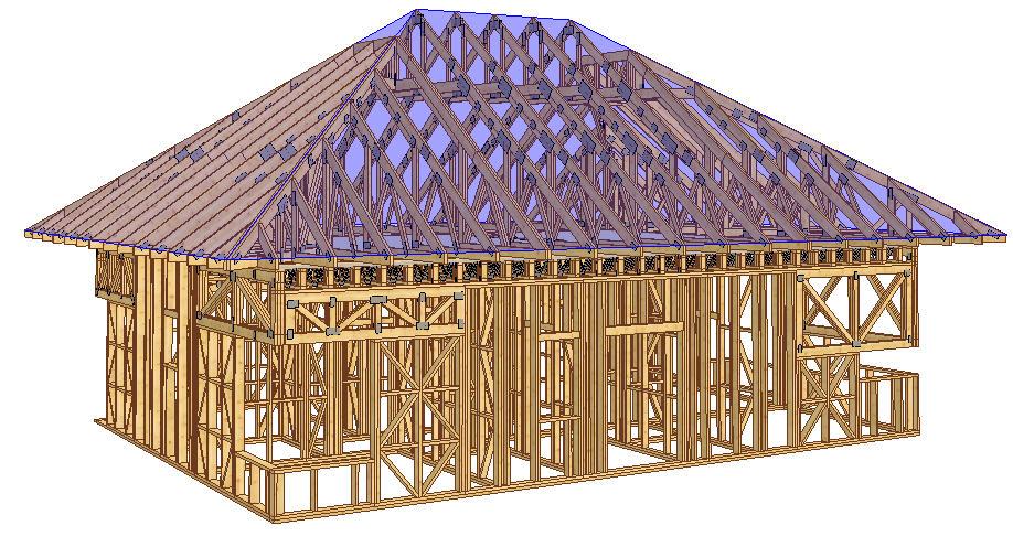 Proiectare proiecte case lemn