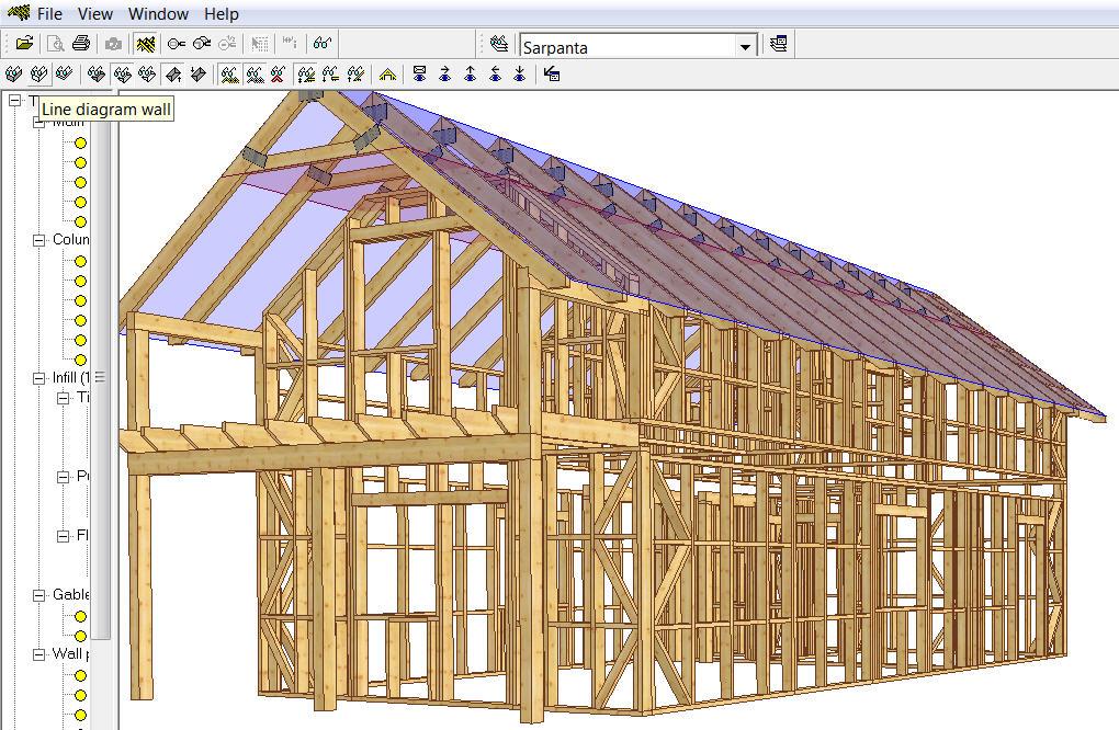 Casa lemn Spania