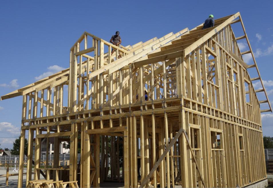 casa lemn Framing