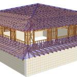 proiectare structuri din lemn restaurant