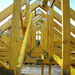 structura lemn asamblata cu placi multicui